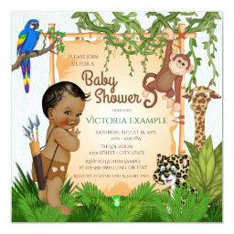 Safari Baby Boy Shower