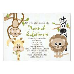 Safari Jungle Baby Shower
