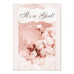 Shabby Chic Pink Peony Flowers