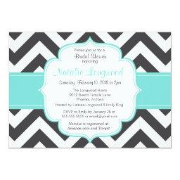 Simple chevron baby or Baby Shower