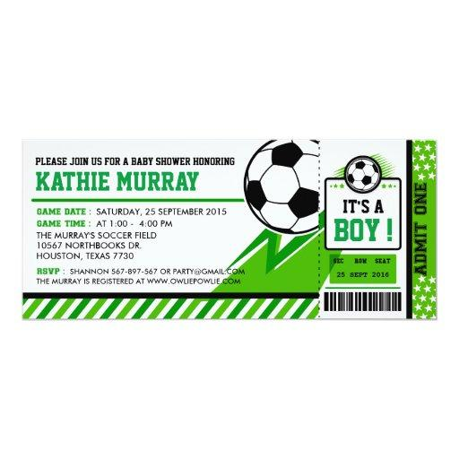 Soccer Ticket Pass