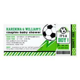 Soccer Ticket Pass Couples