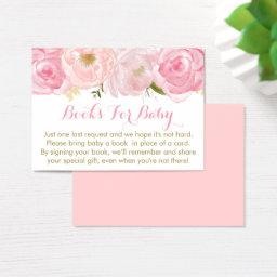 Soft Pink Floral  Book Request