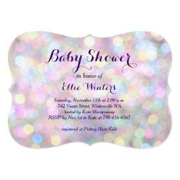 Sparkly Pink Baby Shower
