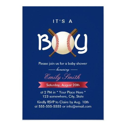 Sport Baseball Theme It's a Boy