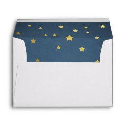 Stars Envelope Shower to the moon Gold twinkle