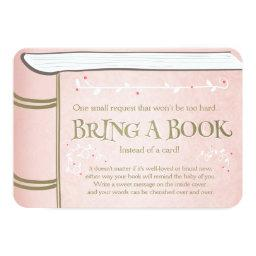 Storybook Bring a book Vintage Pink and Gold