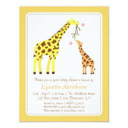 Stylish Colourful Giraffe Baby Shower