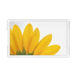 Sunflower Acrylic Serving Tray