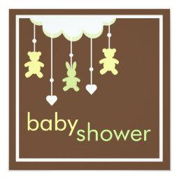 Sweet Baby Neutral Mobile Baby Shower