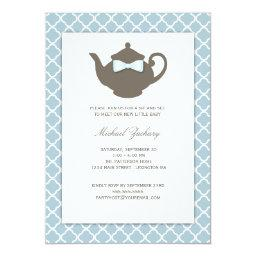 Sweet Blue | Brown Teapot Baby Sip and See Tea
