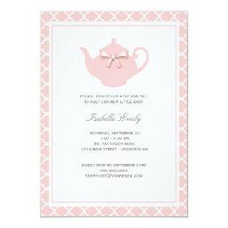 Sweet Pink Teapot Baby Sip and See Tea Party