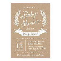 Sweet Rustic Baby Shower