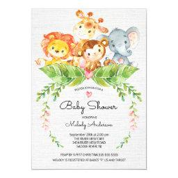 Sweet Safari Jungle Baby Shower