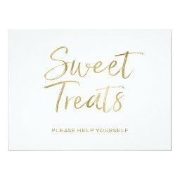 """Sweet Treats"" Sign 
