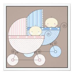 Sweet Twins Two Carriage
