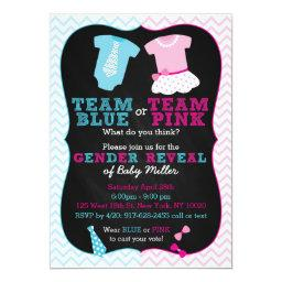 Team Pink or Blue Gender Reveal
