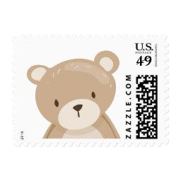 Teddy bear Postage Stamps  Woodland