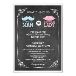 Trendy Chalkboard Gender Reveal Party