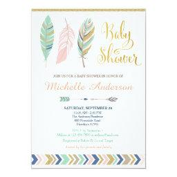 Tribal Baby Shower  / Boho Baby Shower