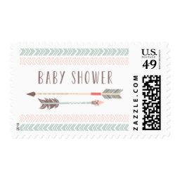 Tribal Baby Shower Postage