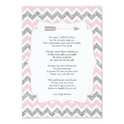 Tribal  thank you notes with poem
