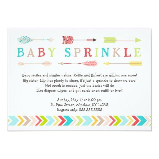 Baby Sprinkle Invitations | BabyShowerInvitations4U