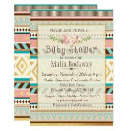 Tribal Boho Baby Shower