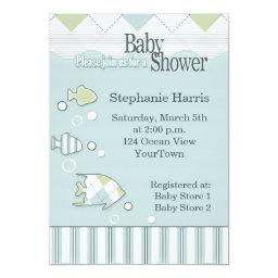 Tropical Fish Baby Shower  #2