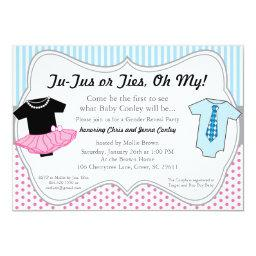 TuTus Ties, Gender Reveal