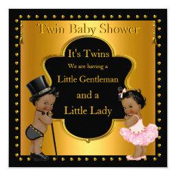 Twin  Boy and Girl Ethnic