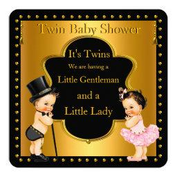 Twin  Boy and Girl Lt Brunette