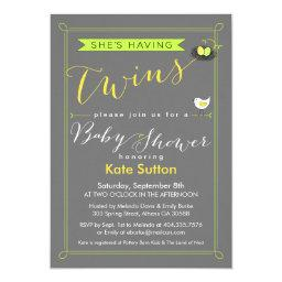 Twin Baby Shower