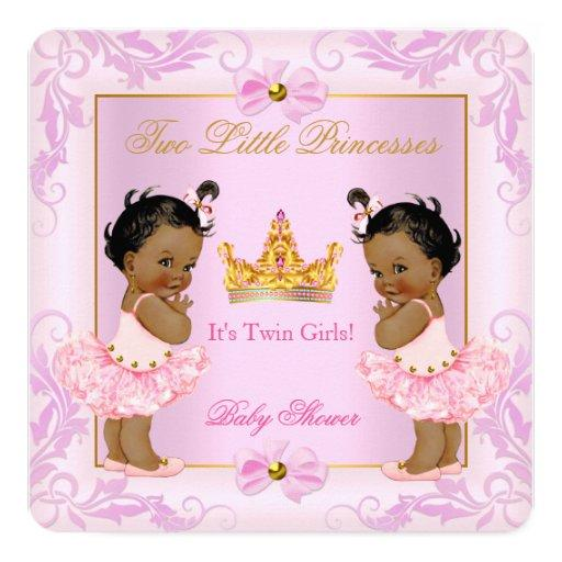 Twin  Princess Tiara Girl Pink Ethnic