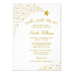 Twinkle Little Shooting Star Faux Gold