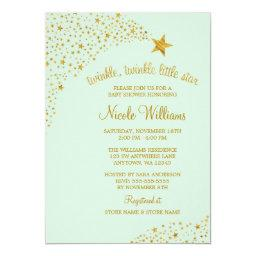 Twinkle Little Shooting Star Gold Mint