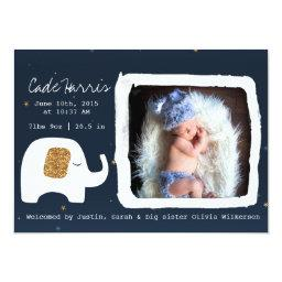 Twinkle Little Star Baby Photo Announcement