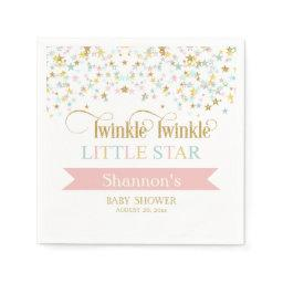 Twinkle Little Star  Any Color Napkin