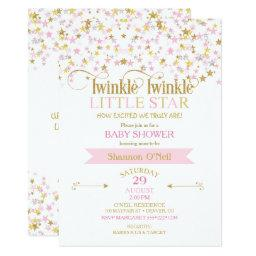 Twinkle Little Star  Pink Gold