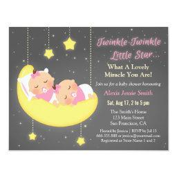 Twinkle Little Star Girl Twins  Custom