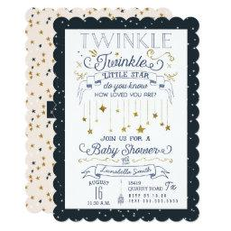 Twinkle Little Star Navy