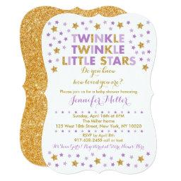 Twinkle Star Twin  Purple