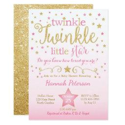 Twinkle Twinkle Baby Shower Invitations BabyShowerInvitations4U