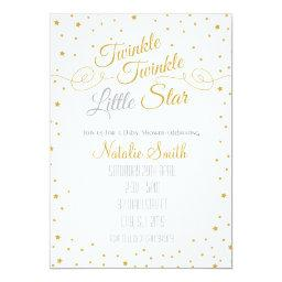 Twinkle Twinkle Little Star  Invite