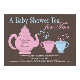 Twins Tea Party Baby Shower