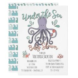 Under the Sea Octopus Baby Shower