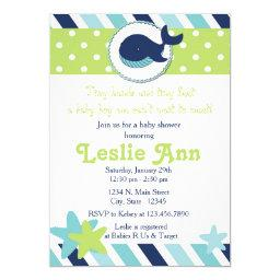 Under the Sea Whale Blues Baby Shower