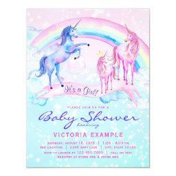 Unicorn Baby Shower  Pastel Unicorn