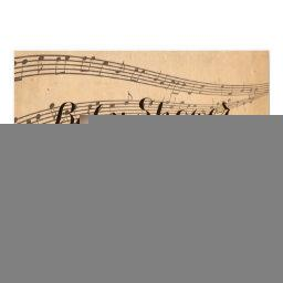 Vintage Music Notes Musical