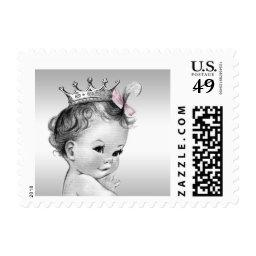 Vintage Princess  Postage Stamp